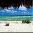 Beach Photo Backsplash Wall Tile Mural Kitchen Decor House Decor