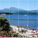 Beach Photo Backsplash Wall Mural Tile Kitchen Decor House Decor
