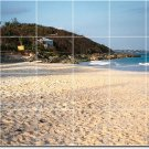 Beach Picture Tile Kitchen Murals Contemporary Home Renovation