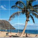 Beach Photo Tile Wall Backsplash Kitchen Mural Design Home Decor