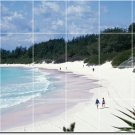Beach Picture Murals Kitchen Tile Home Contemporary Renovation