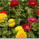 Flowers Image Bathroom Mural Floor Decorating Home Traditional