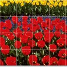 Flowers Image Room Murals Floor Remodeling Idea Decorate House