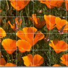 Flowers Photo Mural Living Room Idea Remodeling House Decorate