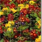 Flowers Photo Wall Murals Bathroom Shower Home Decorating Idea