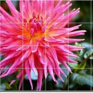 Flowers Image Wall Murals Shower Bathroom Home Idea Decorating