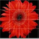 Flowers Photo Shower Tile Murals Wall Design House Renovations
