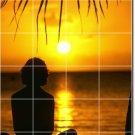 Sunsets Picture Kitchen Tiles Mural Backsplash Art Home Remodel