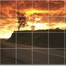 Sunsets Picture Backsplash Kitchen Mural Tiles Art Remodel Home