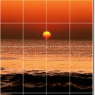 Sunsets Picture Murals Wall Bathroom Wall House Decorating Idea