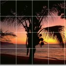 Sunsets Picture Murals Bathroom Wall Shower Traditional Remodel