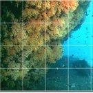 Underwater Picture Wall Backsplash Mural Design Interior Modern