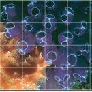 Underwater Photo Backsplash Mural Tile Decorating Interior Idea