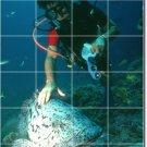 Underwater Image Floor Wall Kitchen Murals Commercial Remodeling