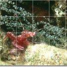 Underwater Photo Wall Backsplash Kitchen Mural Tile Remodel Home