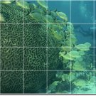 Underwater Photo Room Mural Tiles Floor Contemporary Remodeling