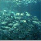 Underwater Photo Tiles Floor Bedroom Mural Interior Design Decor