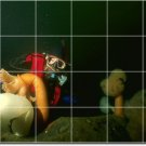 Underwater Picture Mural Bathroom Shower Wall Residential Decor