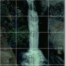 Waterfalls Photo Mural Tile Room Wall Dining Home Modern Remodel