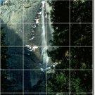 Waterfalls Photo Wall Bathroom Tiles Shower Mural Commercial Art