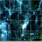Waterfalls Picture Wall Room Dining Mural Idea Renovations Home