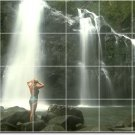 Waterfalls Picture Wall Mural Dining Room House Design Renovate