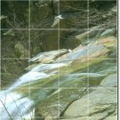 Waterfalls Image Shower Murals Wall Tile Modern Renovation Home