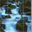 Waterfalls Picture Mural Backsplash Wall Tile Renovate Interior
