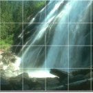 Waterfalls Picture Wall Tiles Shower Interior Ideas Renovations