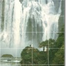 Waterfalls Picture Kitchen Tiles Mural Floor Home Modern Decor