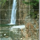 Waterfalls Photo Mural Tile Dining Room Modern Interior Renovate