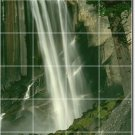 Waterfalls Picture Mural Floor Tiles Kitchen House Decor Decor