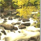 Waterfalls Photo Mural Backsplash Kitchen Wall Floor Decor Decor