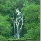 Waterfalls Image Mural Backsplash Wall Kitchen Decor Floor Decor