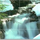 Waterfalls Photo Backsplash Tiles Wall Interior Decorating Ideas