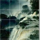 Waterfalls Image Tile Murals Wall Shower Remodeling Residential