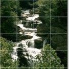 Waterfalls Picture Mural Tiles Floor Bedroom Design Decor Home