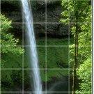 Waterfalls Picture Tiles Bedroom Mural Floor Decor Design Home