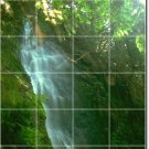Waterfalls Photo Murals Wall Bathroom Design Interior Renovation