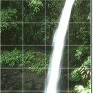 Waterfalls Image Backsplash Murals Wall Kitchen Ideas Remodeling