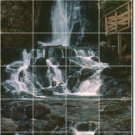 Waterfalls Image Murals Room Wall Living Renovations Traditional