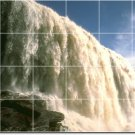 Waterfalls Image Room Dining Tiles Wall Remodeling Idea Interior
