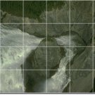 Waterfalls Picture Room Floor Mural Remodeling Idea Commercial