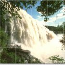 Waterfalls Picture Kitchen Tiles Mural Modern House Remodeling
