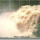 Waterfalls Photo Tile Room Mural Dining Wall Remodel Commercial