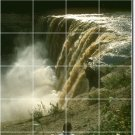 Waterfalls Photo Tiles Mural Room Wall Decorate Traditional Home