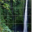 Waterfalls Picture Bathroom Shower Mural Wall Home Decor Decor