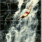 Waterfalls Photo Room Dining Murals Wall Remodeling House Design