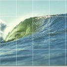 Waves Image Wall Dining Mural Room Wall Construction Residential