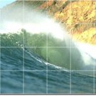 Waves Picture Bedroom Wall Murals Wall Construction House Ideas
